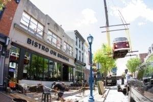 Beer Bus Crane