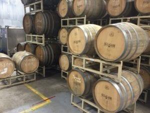 Allagash Barrels