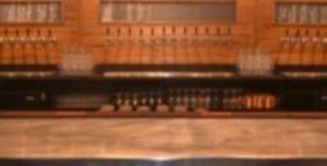 Blurred Bar
