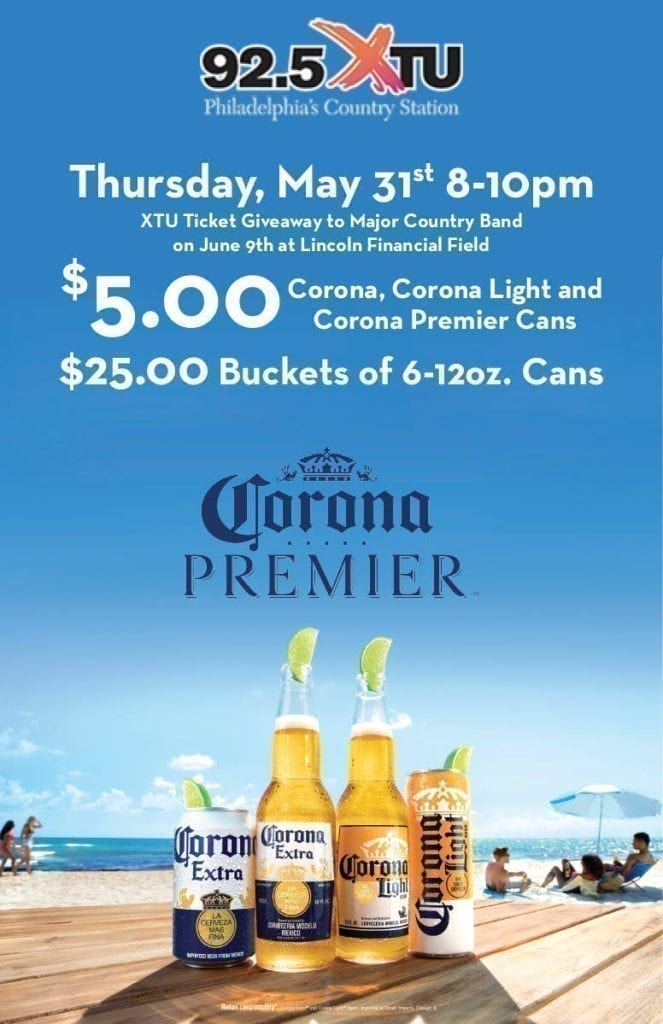 925 XTU Ticket Giveaway And The Corona Girls