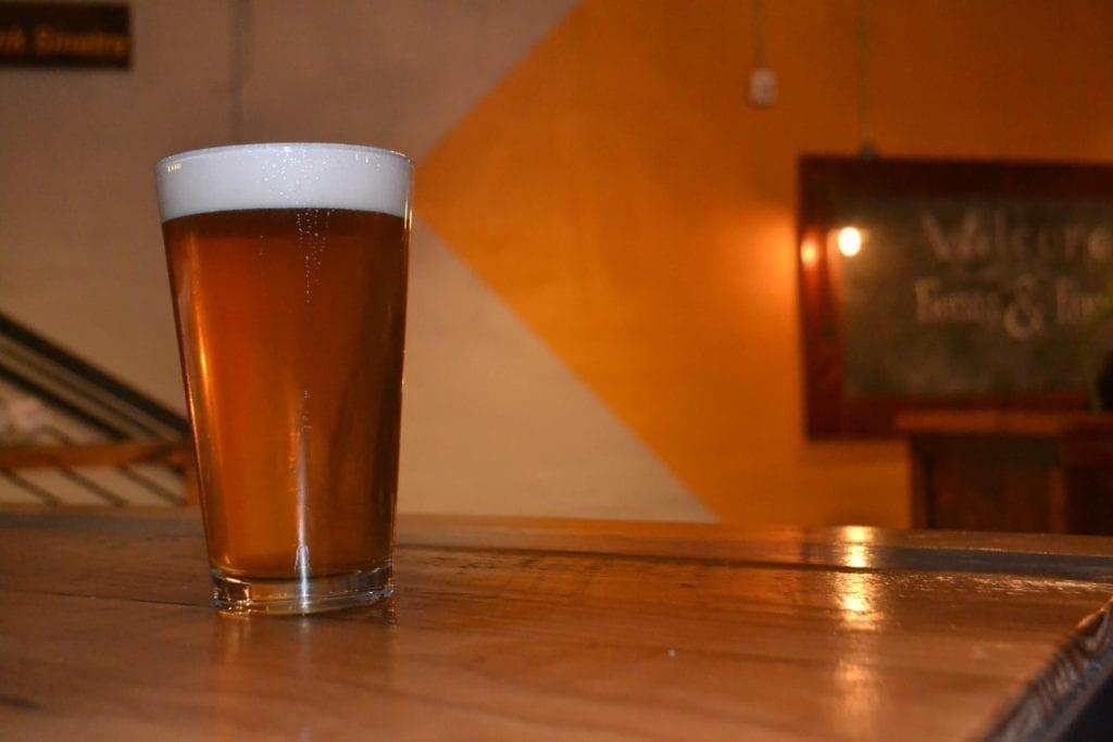Pint of Beer at Bistro on Bridge