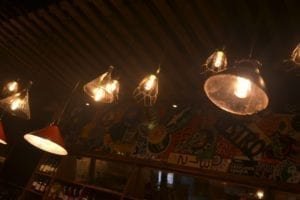 Bistro on Bridge Bar Lights
