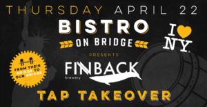 Finback Tap Takeover