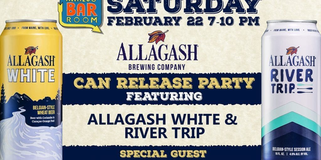 Allagash Can Launch banner